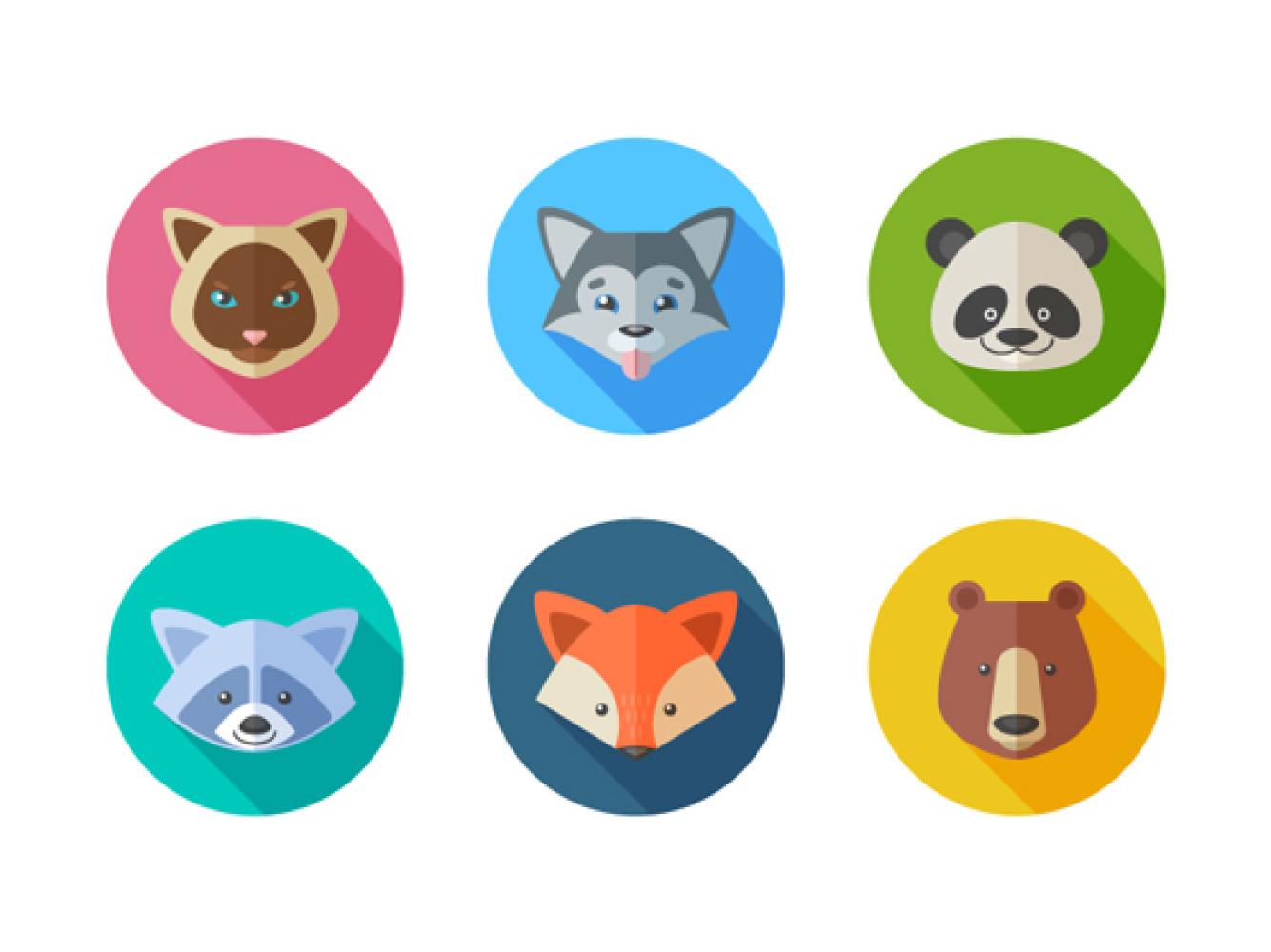 怎样快速的在Adobe Illustrator中绘制一组创意的动物图标