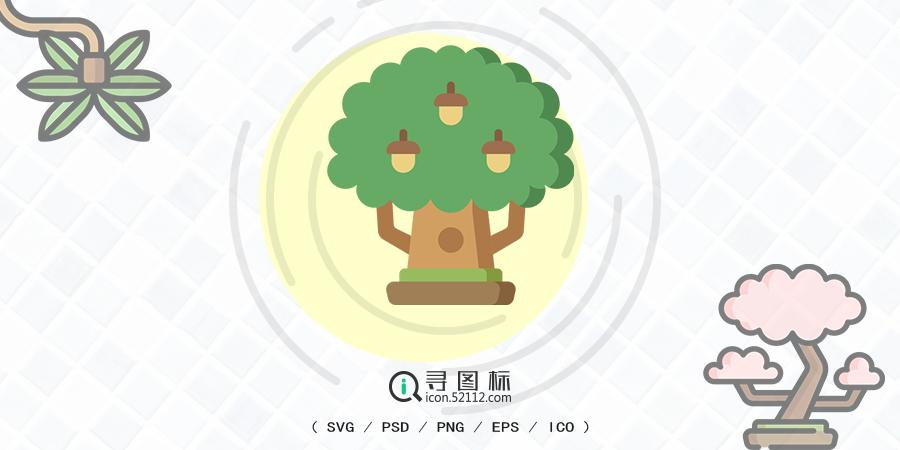 树图标,50种树木大开眼界