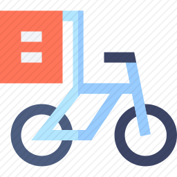 送货自行车