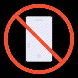 禁止携带手机