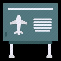 机场指示牌