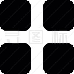 四方格图标