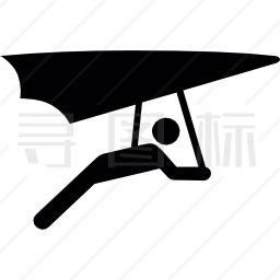 飞行滑翔机图标