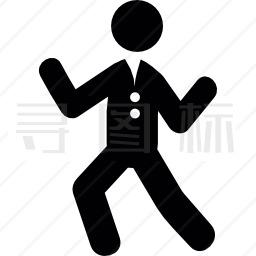 跳舞的人图标