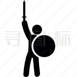 剑盾战士图标