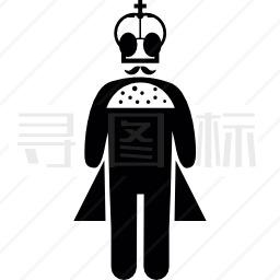 站着的国王图标