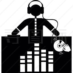 混音音乐图标