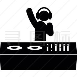 舞会的DJ图标