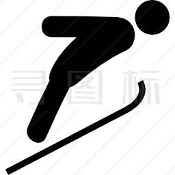 滑雪橇图标