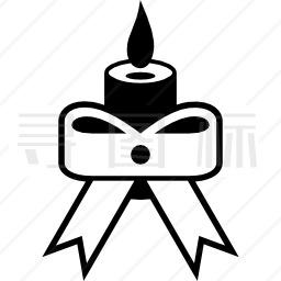 蜡烛燃烧图标