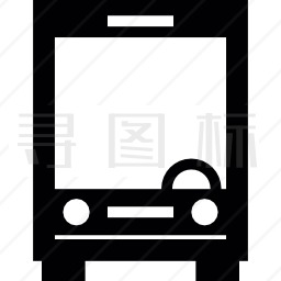 大客车前线图标