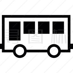 公共客车图标