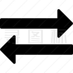 交换箭头图标