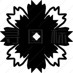 八瓣花图标