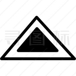 三角形外形图标