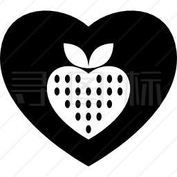 草莓情人图标