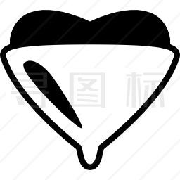 心形保护图标