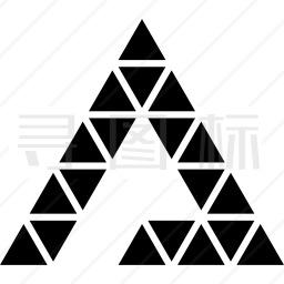 三角形三角形图标