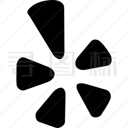 Yelp标志图标