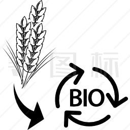 小麦废弃物对生物质量的影响图标