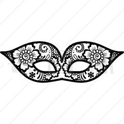 鲜花嘉年华眼罩图标