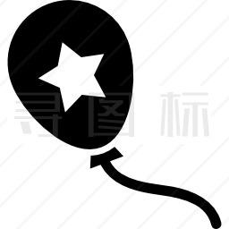 星气球图标