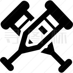拐杖偶图标