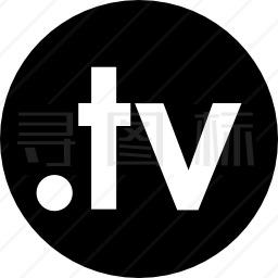 十字电视标志图标