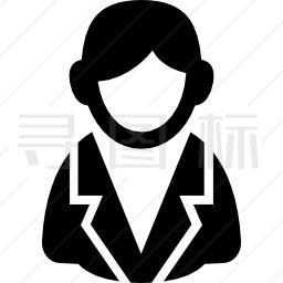 诉讼中的男性用户图标图标