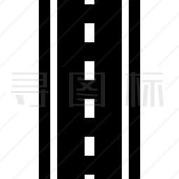 道路直线顶视图图标 有svg Png Eps格式 寻图标
