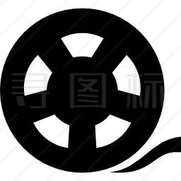 电影电影胶卷图标
