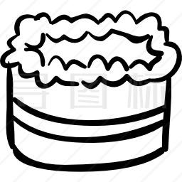 庆典蛋糕图标