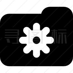 文件夹设置按钮图标
