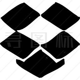 Dropbox徽标图标