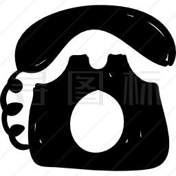 经典电话图标