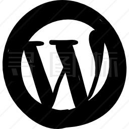 WordPress徽标图标
