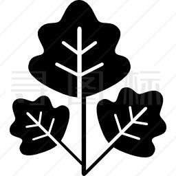 树树叶图标