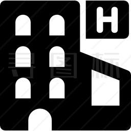 酒店建筑图标