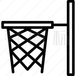 篮球篮图标