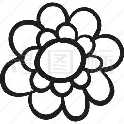 花园花瓣图标