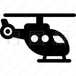 旧直升机图标