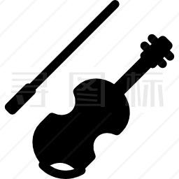 小提琴与弓图标