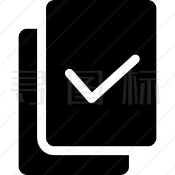 选定文件图标