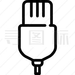 USB连接图标