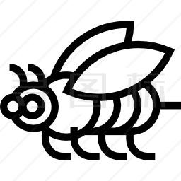 蜜蜂向左图标