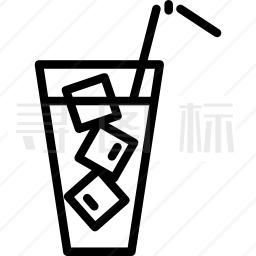 冰镇饮料图标