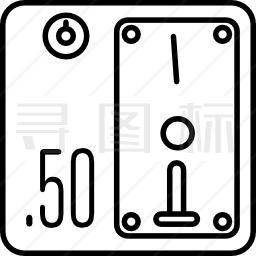 硬币槽图标