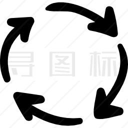 圆形箭头图标