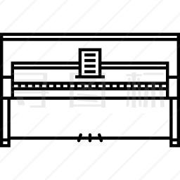 立式钢琴图标
