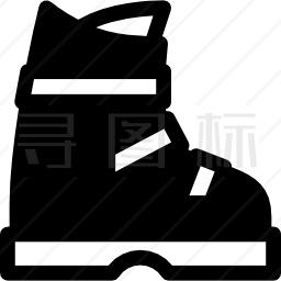 滑雪靴图标